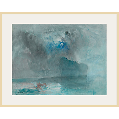 The Courtauld Gallery, Joseph Mallord William Turner – On Lake Lucerne Looking Towards Fluelen Print