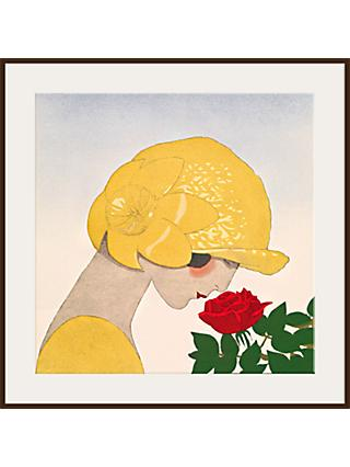 The Courtauld Gallery, Gazette du Bon Ton - No10 1924 Le Parfum de la Rose Detail Print