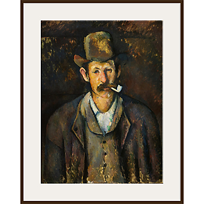 The Courtauld Gallery, Paul Cézanne – Man with a Pipe 1892-1895 Print