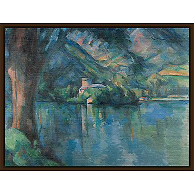 The Courtauld Gallery, Paul Cézanne – Lac d'Annecy 1896 Print