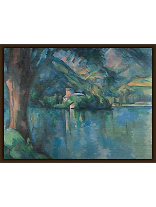 The Courtauld Gallery, Paul Cézanne - Lac d'Annecy 1896 Print