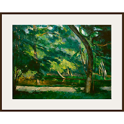 The Courtauld Gallery, Paul Cézanne – L'Etang des Soeurs, Osny near Pontoise Circa 1875 Print