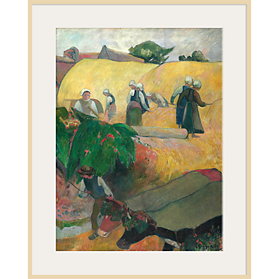 The Courtauld Gallery, Paul Gauguin – Haymaking 1889 Print