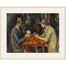 Buy The Courtauld Gallery, Paul Cézanne - Card Players 1895 Print Online at johnlewis.com