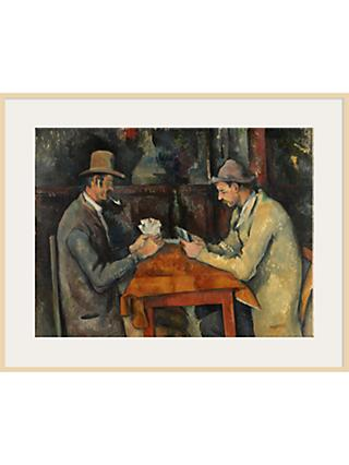 The Courtauld Gallery, Paul Cézanne - Card Players 1895 Print