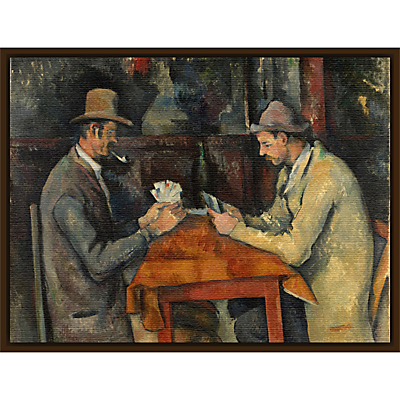 The Courtauld Gallery, Paul Cézanne – Card Players 1895 Print