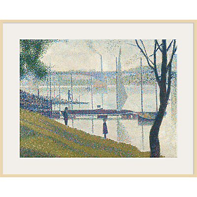 The Courtauld Gallery, Georges Seurat – Bridge at Courbevoie 1886-1887 Print