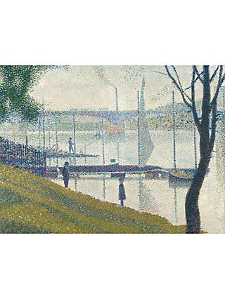 The Courtauld Gallery, Georges Seurat - Bridge at Courbevoie 1886-1887 Print