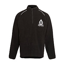 Buy The Minster School, Southwell, Unisex Fleece Top, Black Online at johnlewis.com
