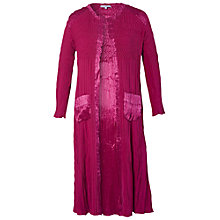 Buy Chesca Crush Pleated Coat Online at johnlewis.com