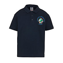 Buy Cambridge International School Unisex Polo Shirt, Navy Online at johnlewis.com
