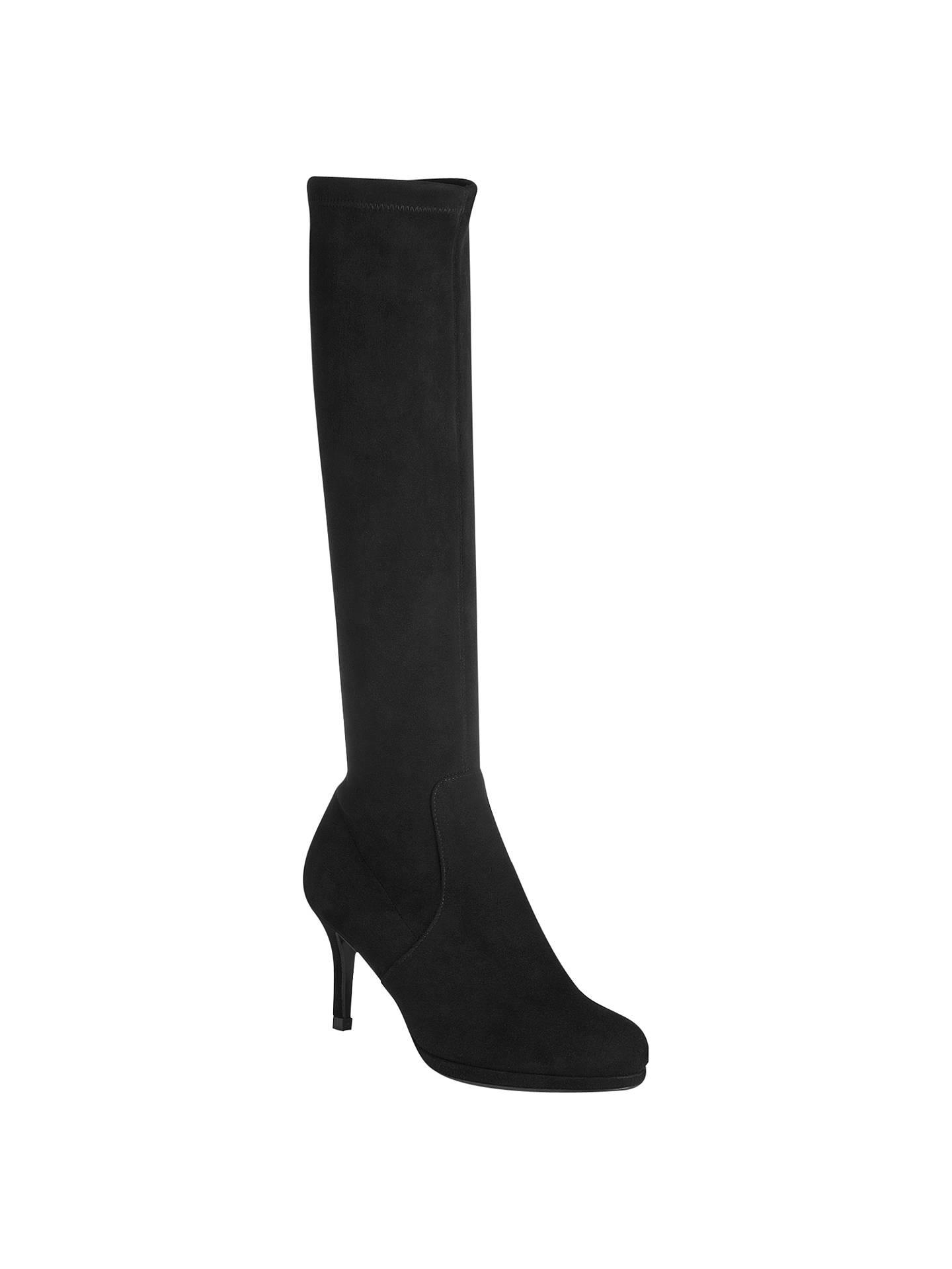 481215df1 Buy L.K. Bennett Sylvie Knee High Boots, Black, 3 Online at johnlewis.com  ...
