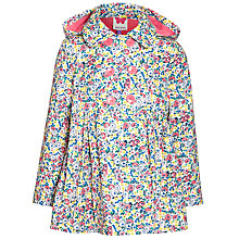 Buy John Lewis Girl Ditsy Flower Mac, Multi Online at johnlewis.com