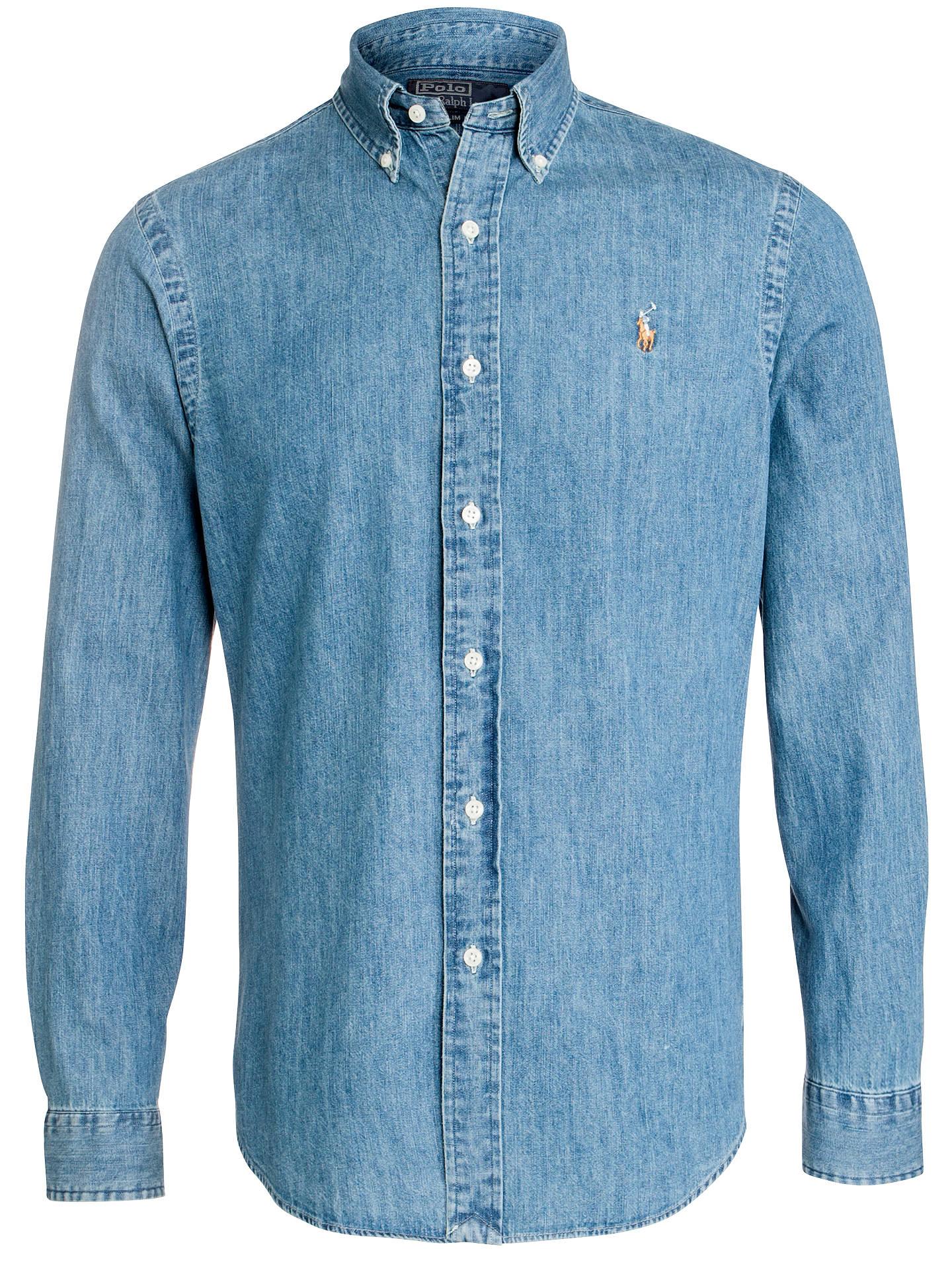 12e9327ba6f Buy Polo Ralph Lauren Slim Fit Denim Shirt