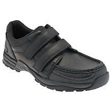 Buy Start-rite Rhino Miles Leather Shoes, Black Online at johnlewis.com