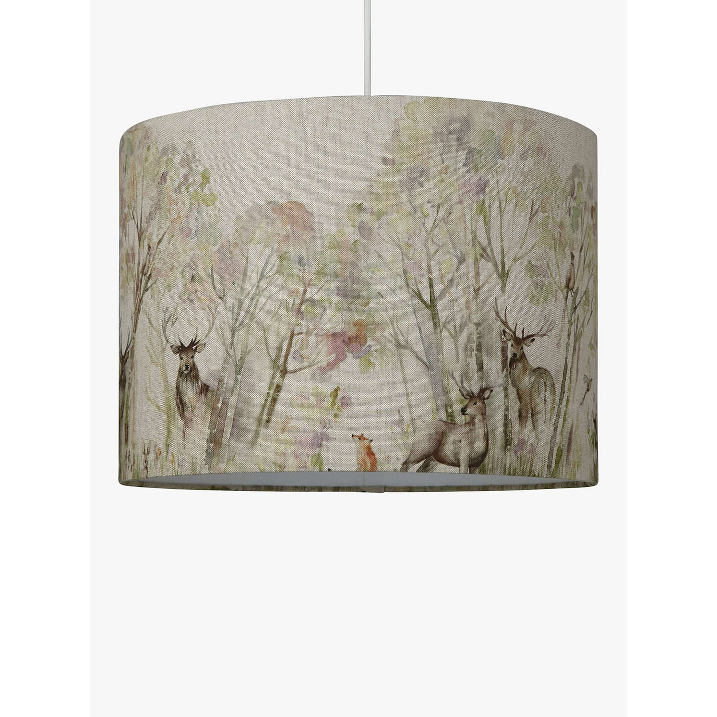 BuyVoyage Enchanted Forest Lampshade, Dia.30cm Online at johnlewis.com