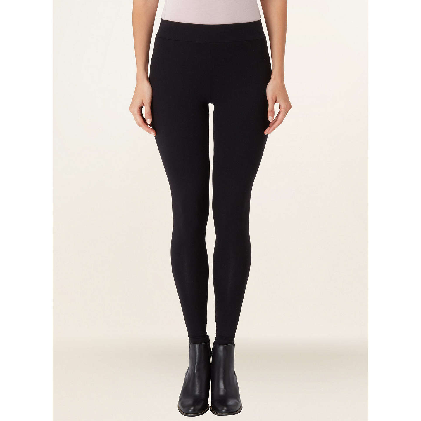Phase Eight Lizzie Leggings, Black At John Lewis
