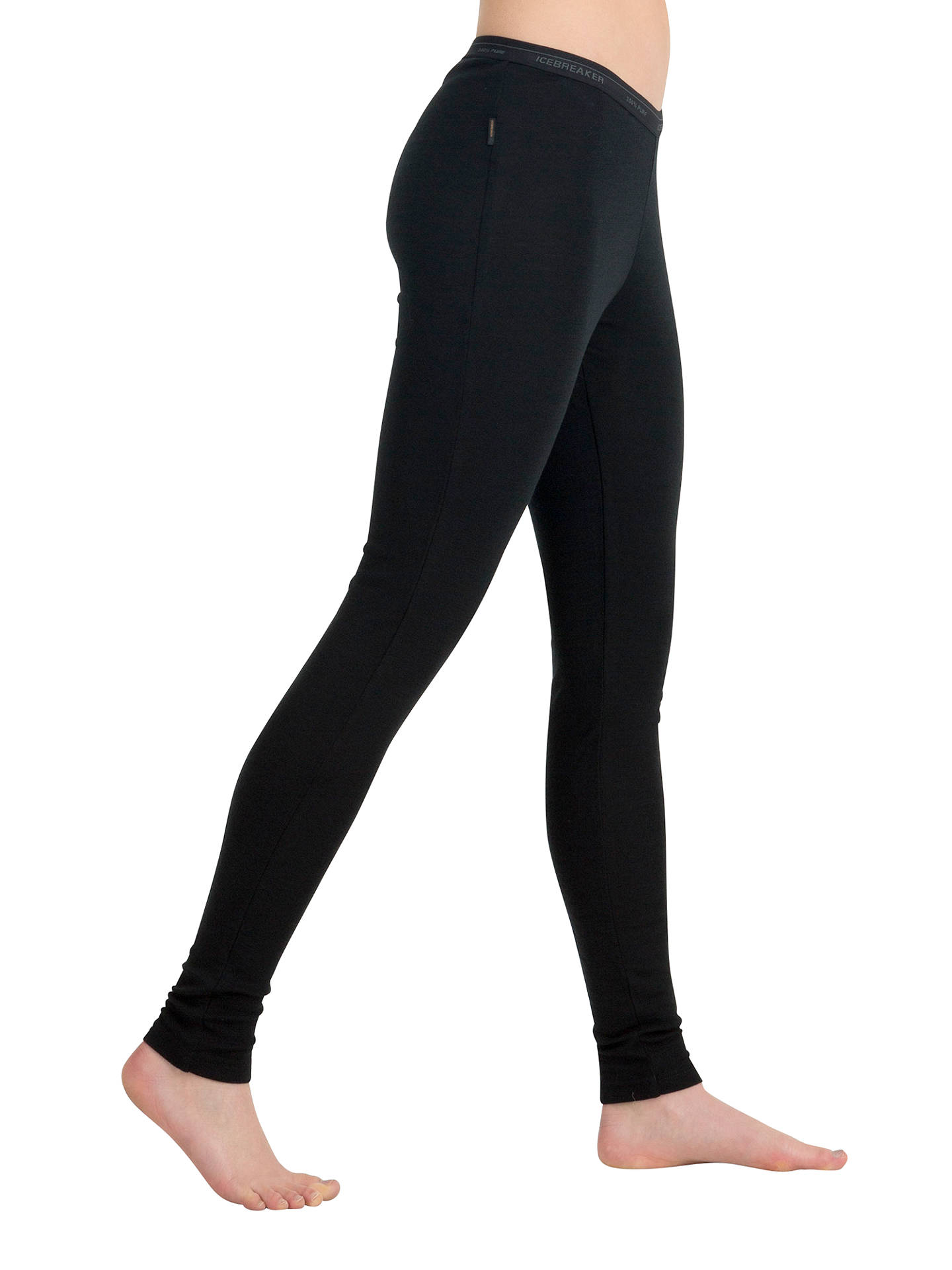 Icebreaker Everyday Leggings Black At John Lewis Partners