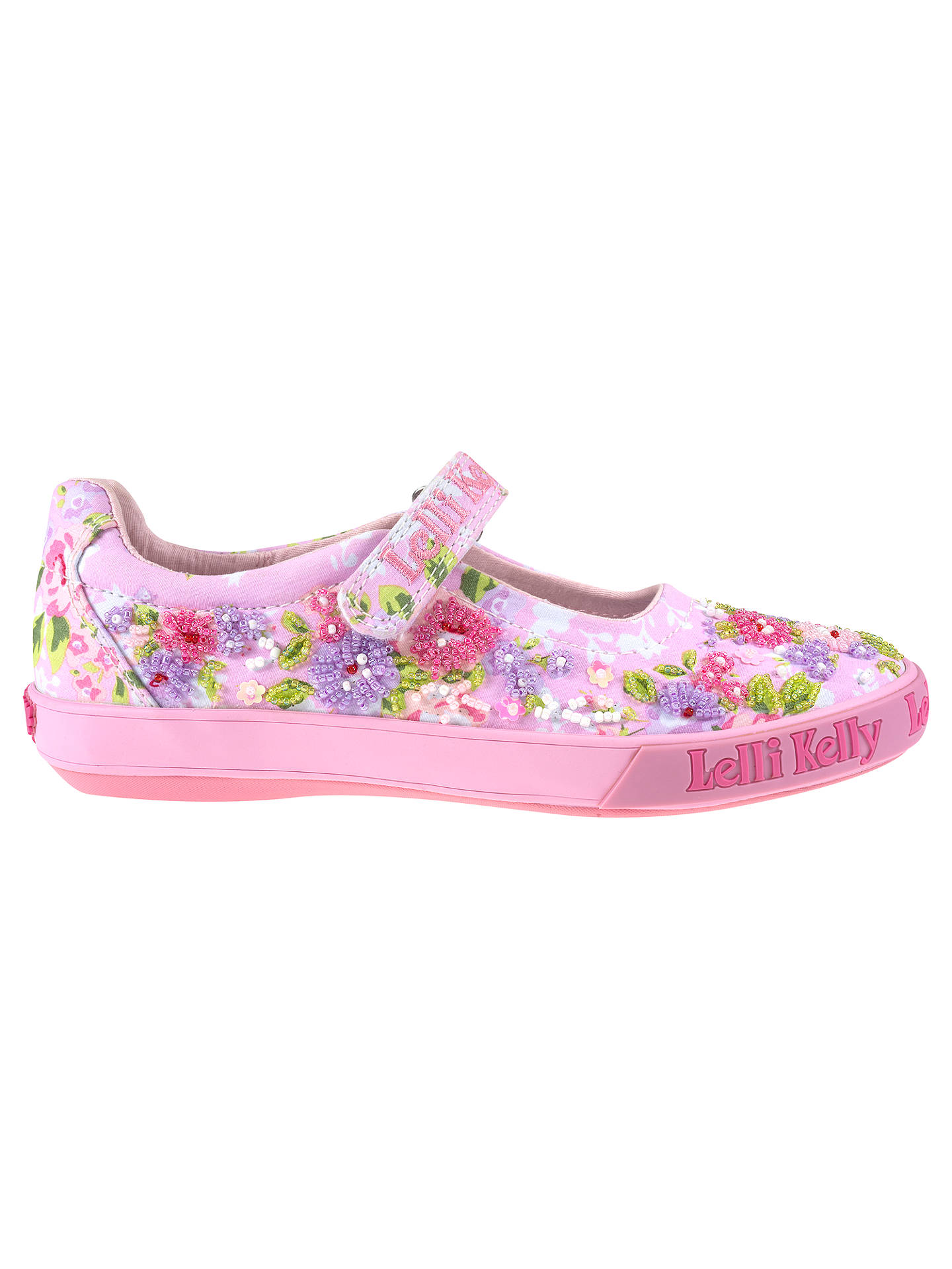 various design no sale tax reliable quality Lelli Kelly Daisy Dolly Floral Beaded Pumps, Hot Pink at John ...