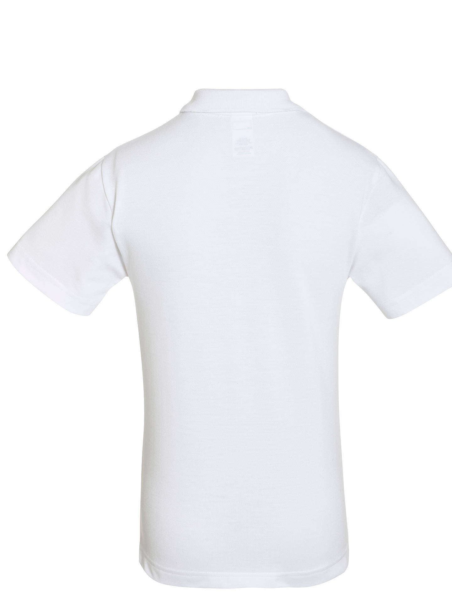 BuyForest Park Preparatory School Unisex Polo Shirt, White, 5-6 years Online at johnlewis.com