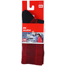 Buy Helly Hansen Ski Downhill Socks, Red Online at johnlewis.com