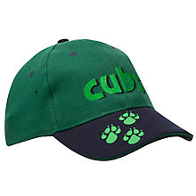 Buy Cubs Cap, Green Online at johnlewis.com