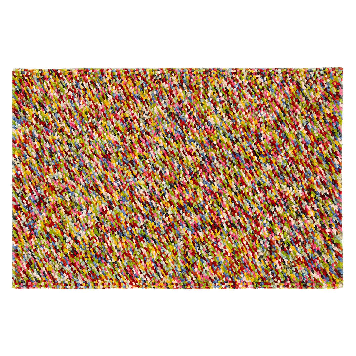 John Lewis Jelly Beans Rug New Multi L300 X W200cm Online At Johnlewis