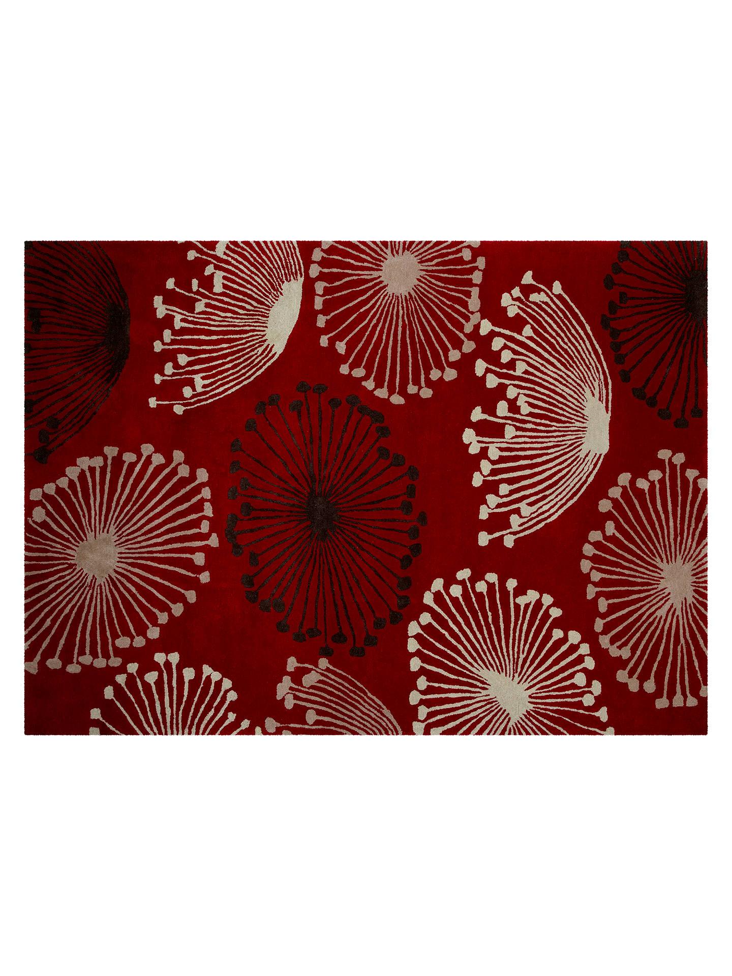 Sanderson Dandelion Rug Red L240 X W170cm Online At Johnlewis Com
