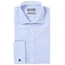 Buy John Lewis Luxury Royal Oxford Tailored Fit Shirt with Cufflinks Online at johnlewis.com