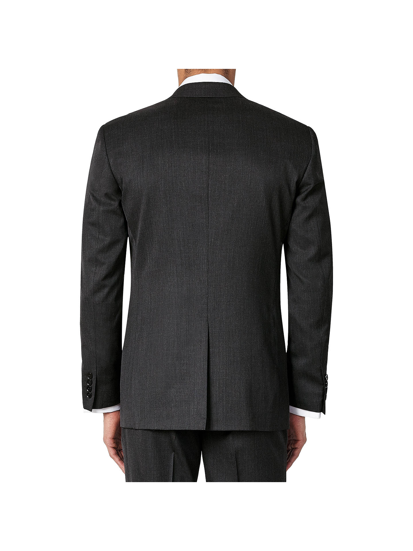 BuyJohn Lewis & Partners Washable Tailored Suit Jacket, Charcoal, 48R Online at johnlewis.com
