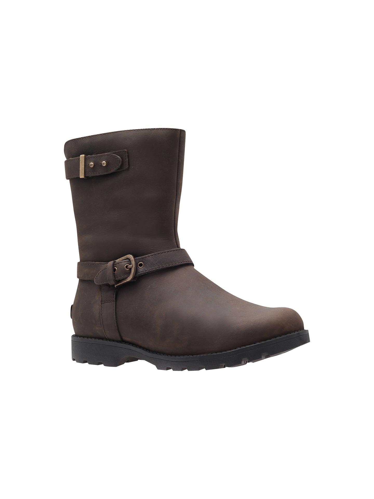 a98748c802d UGG Grandle Ankle Boots, Brown at John Lewis & Partners