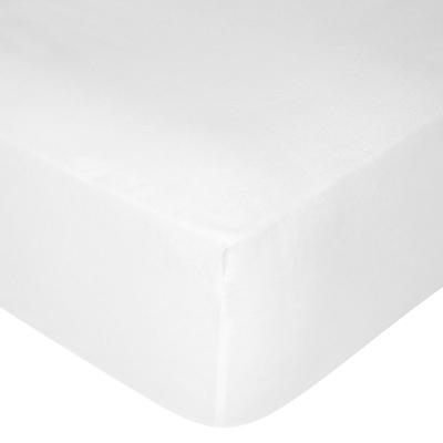 John Lewis Brushed Cotton Fitted Sheet