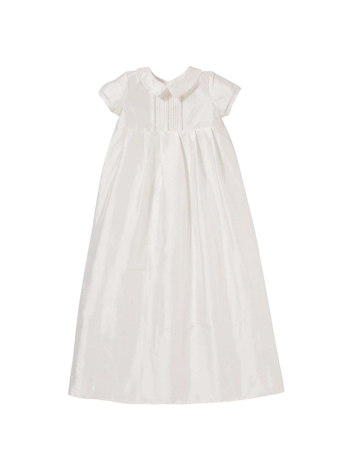 96648b9a2 Buy John Lewis & Partners Unisex Long Christening Gown, Cream, 0-3 months