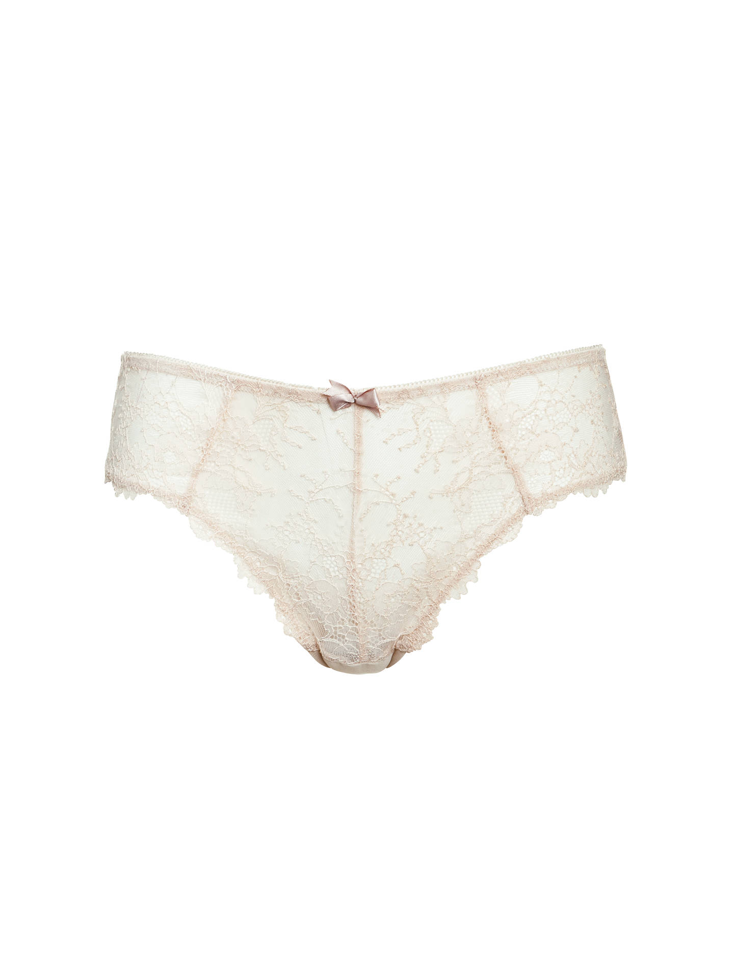 c4b4d1fabfdc Buy COLLECTION by John Lewis Genevieve Lace Briefs, Nude, 8 Online at  johnlewis.