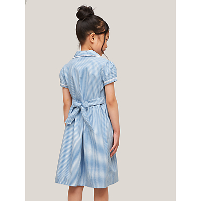 Product photo of John lewis gingham cotton school summer dress