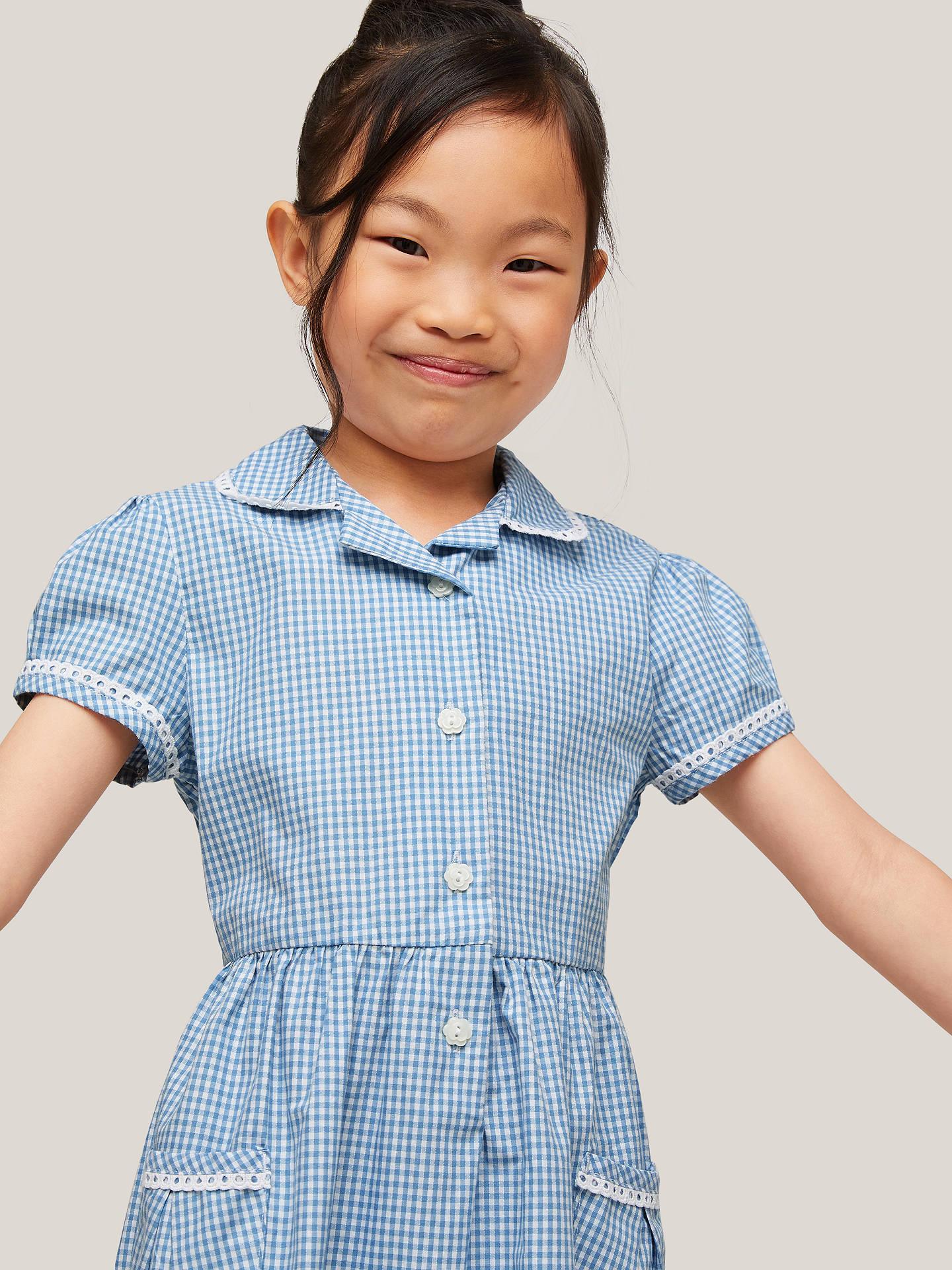 4b1680cc5 John Lewis   Partners Gingham Cotton School Summer Dress at John ...