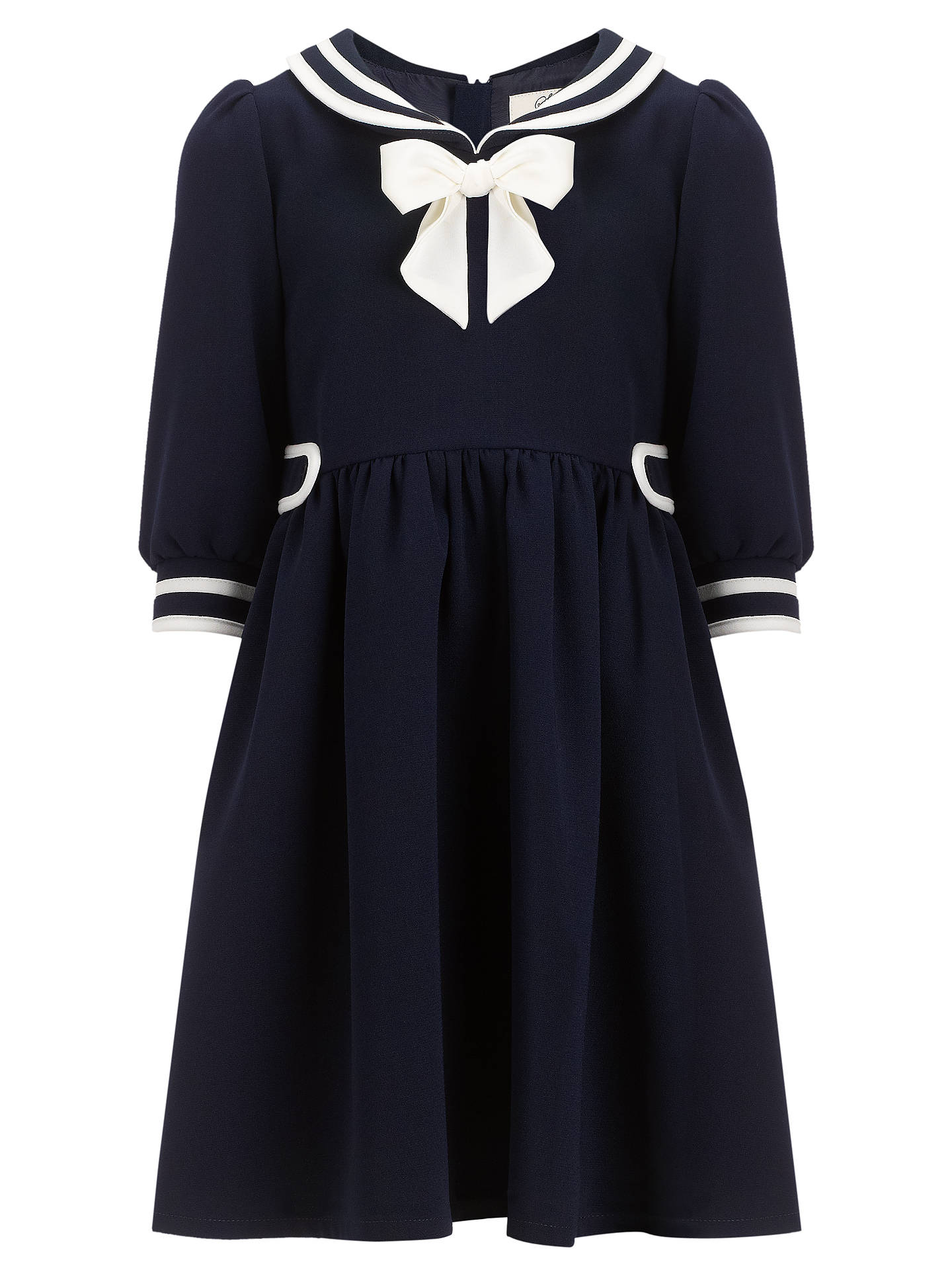 Somerset by Alice Temperley Girls' Sailor Dress, Navy at