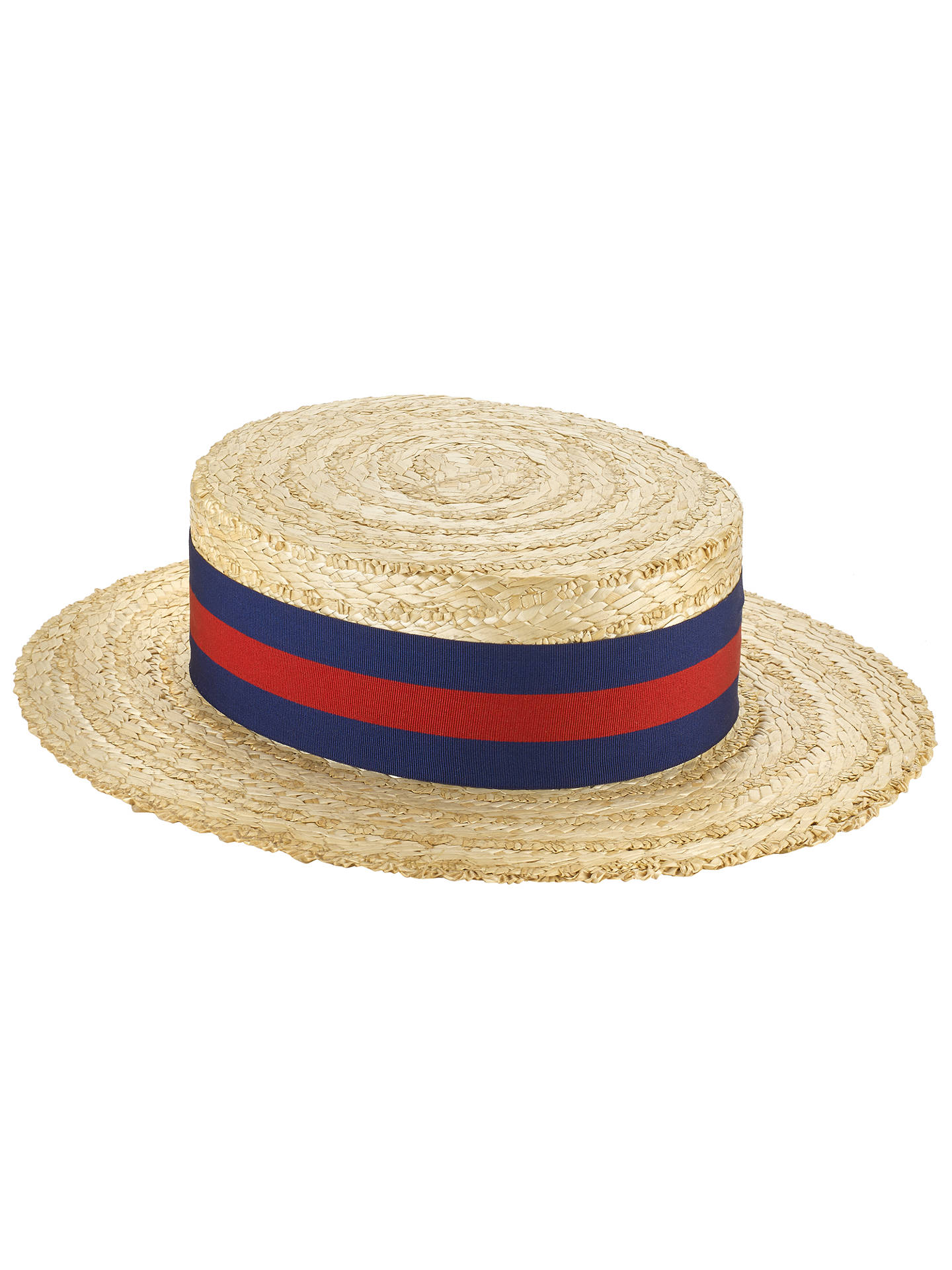 81896564 Buy Olney Boater Hat, Natural, M Online at johnlewis.com ...