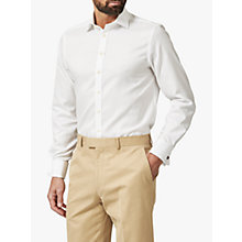 Buy Chester by Chester Barrie Oxford Tailored Long Sleeve Shirt, White Online at johnlewis.com