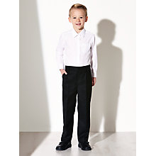 Buy John Lewis Boys' Easy Care Adjustable Waist Slim Leg School Trousers Online at johnlewis.com