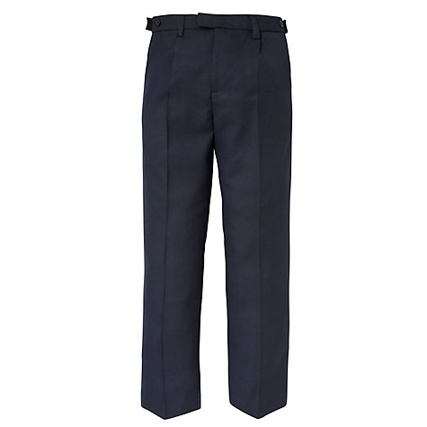 Buy John Lewis Boys' Easy Care Adjustable Waist Senior Tailored Fit School Trousers Online at johnlewis.com