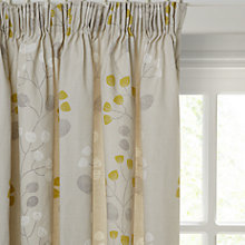 Buy John Lewis Seedlings Lined Pencil Pleat Curtains Online at johnlewis.com
