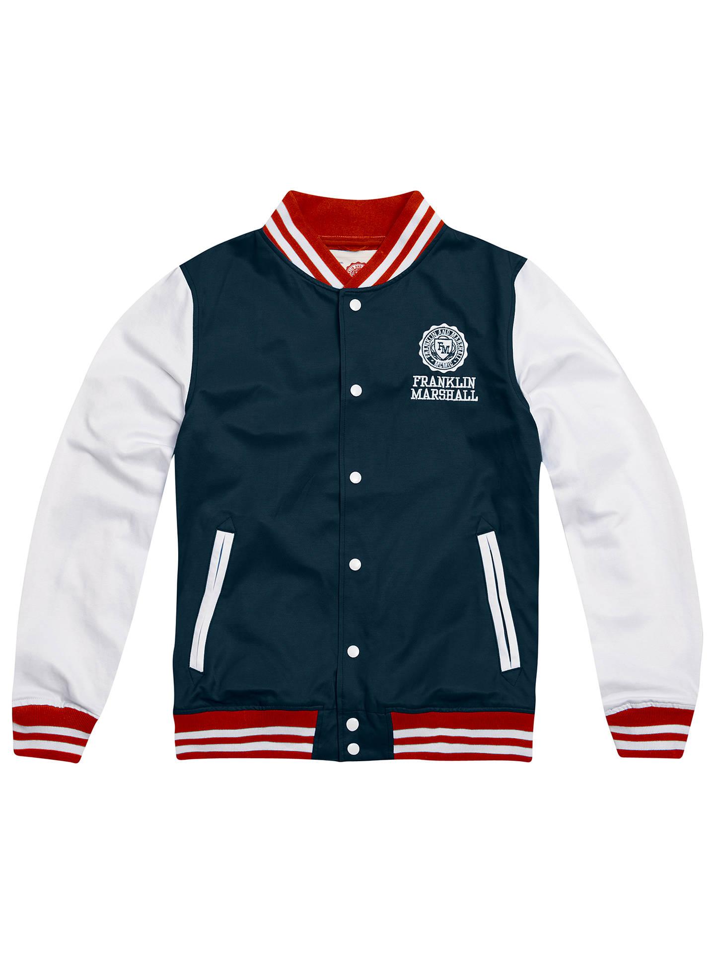BuyFranklin   Marshall Varsity Baseball Jacket 5f953338002