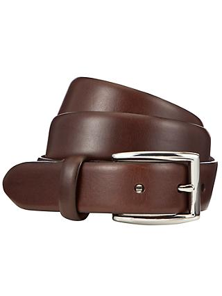 Polo Ralph Lauren Leather Pin Buckle Belt, Black, Brown
