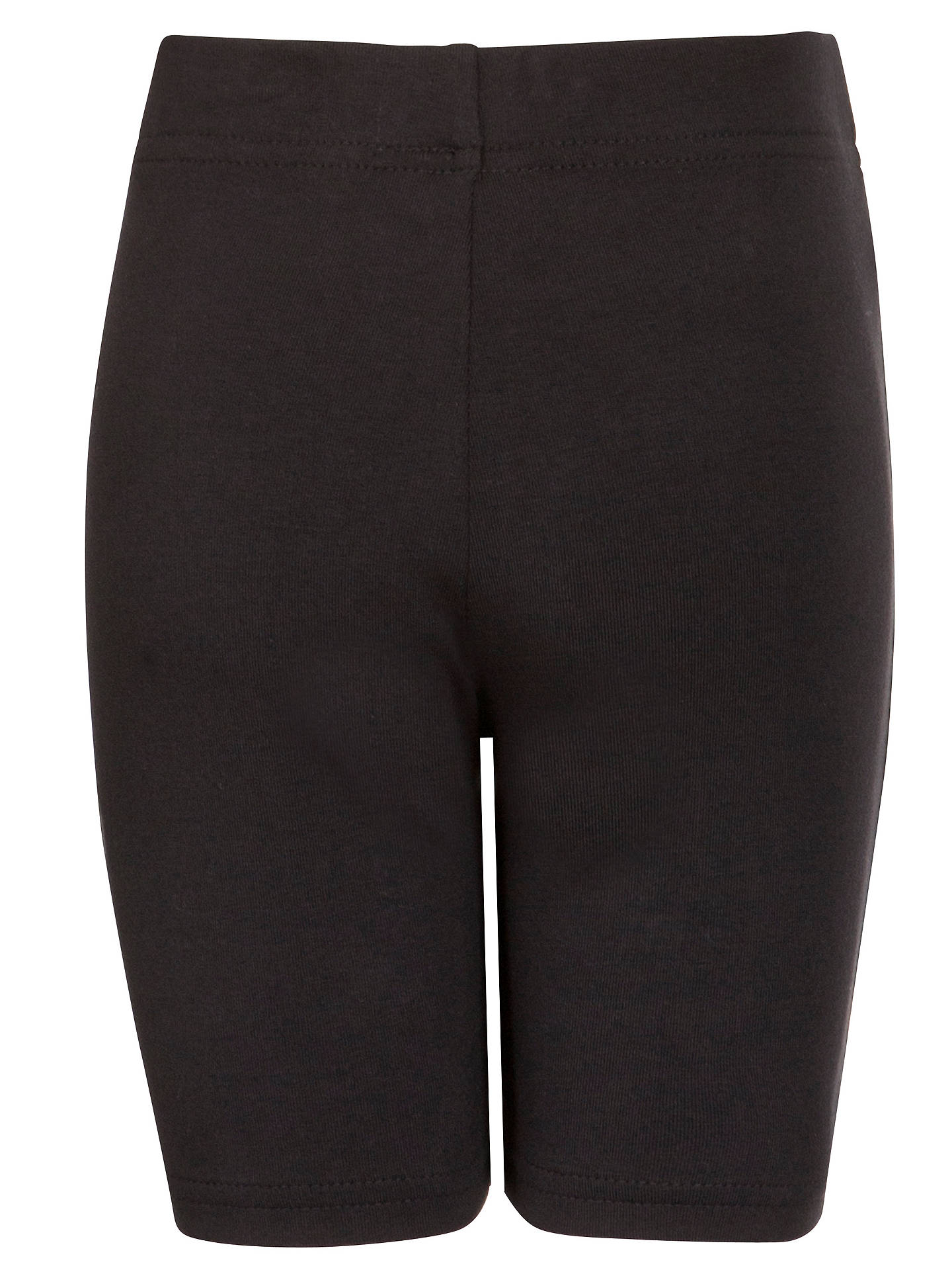 BuyJohn Lewis & Partners School Cycle Shorts, Black, 3-4 years Online at johnlewis.com