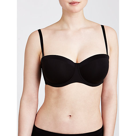 Buy John Lewis Satin Band Underwired Strapless Multiway Bra Online at johnlewis.com