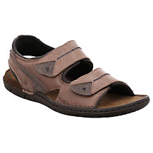 Buy Josef Seibel Paul 04 Leather Sandals, Nut Online at johnlewis.com