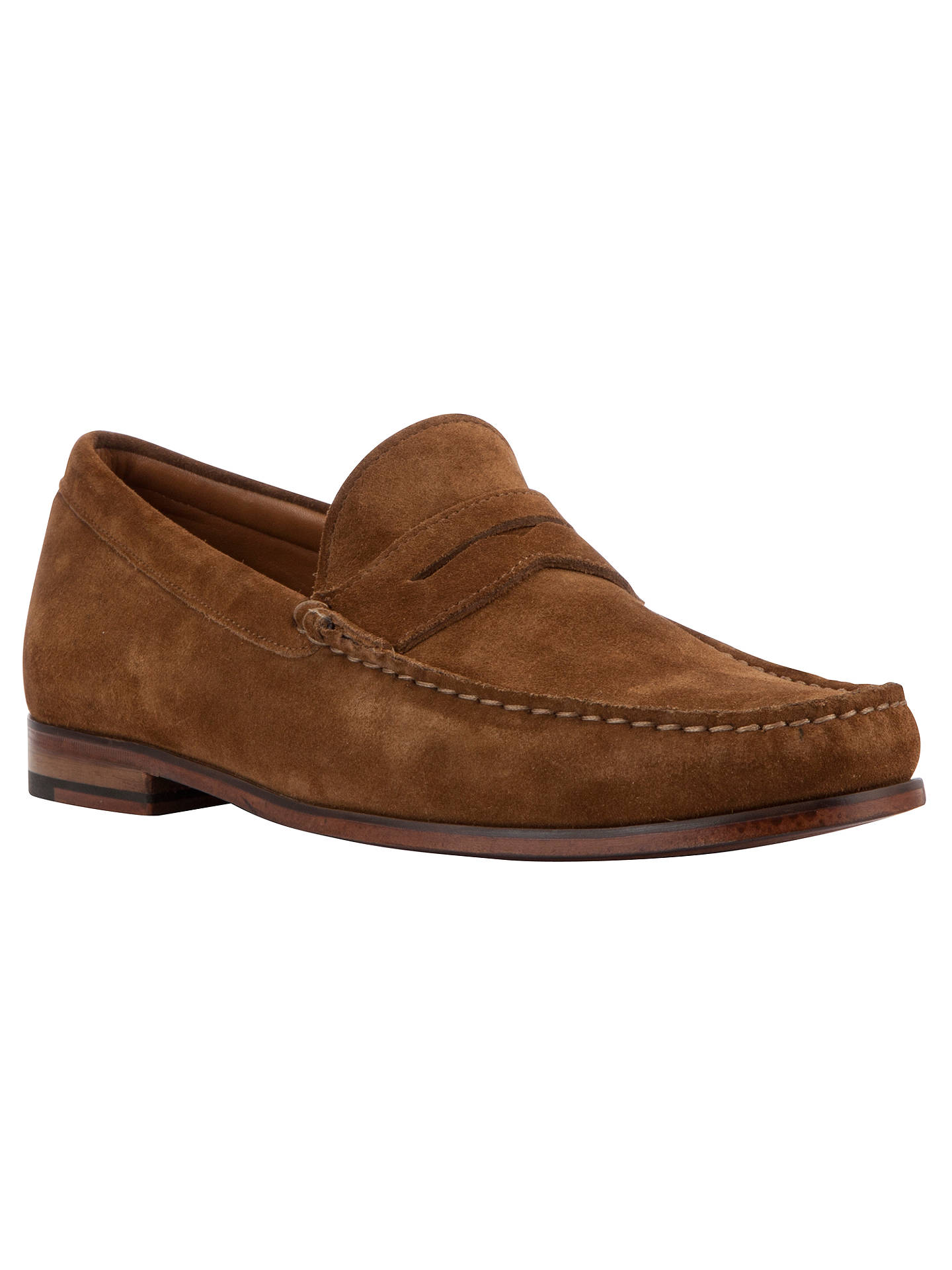 b7309560382 John Lewis Lloyd Suede Penny Loafers at John Lewis   Partners
