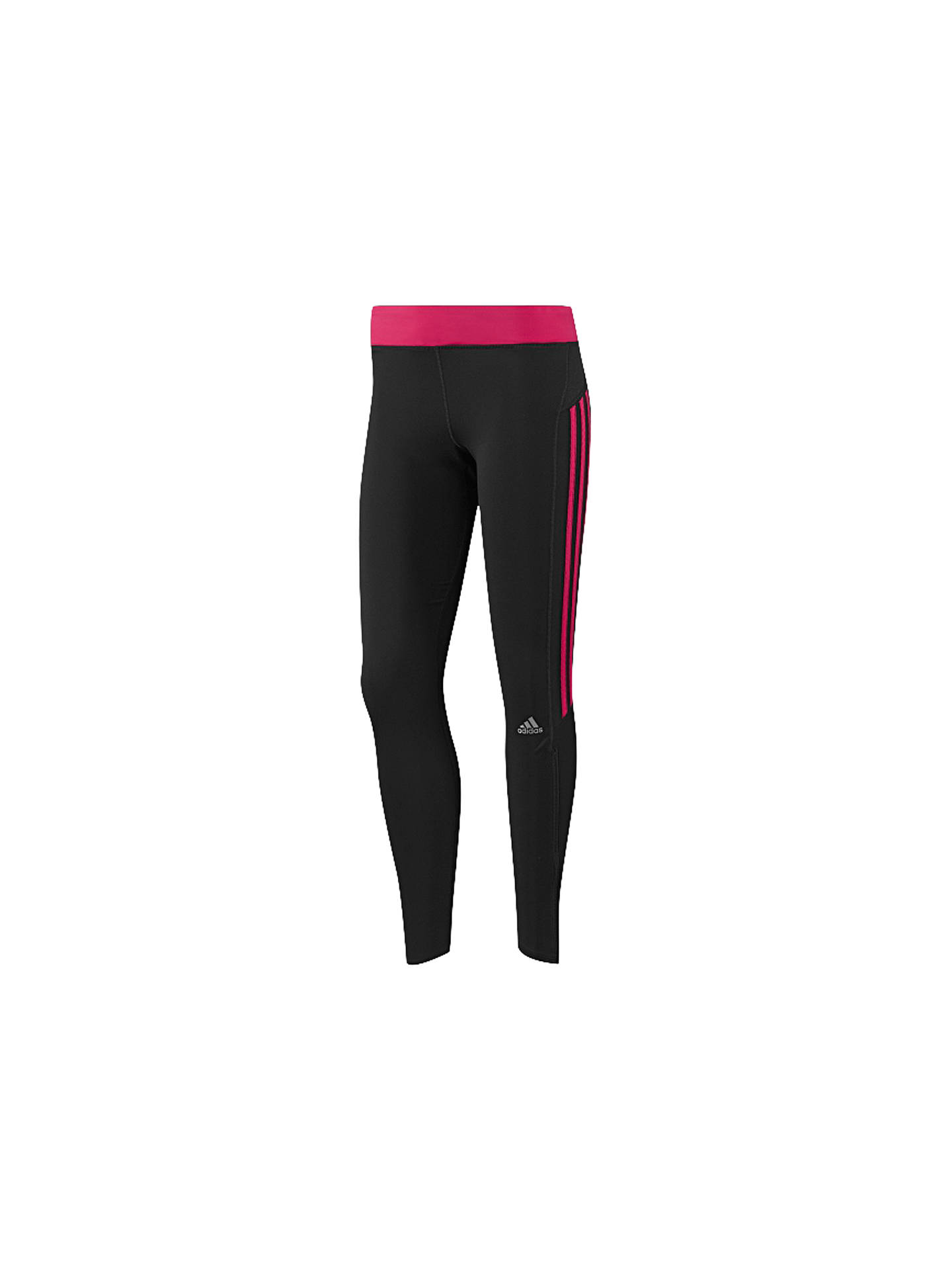 Adidas Women's Response Long Running Tights, BlackPink at