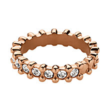 Buy Dyrberg/Kern Gafa Swarovski Crystal Ring Online at johnlewis.com